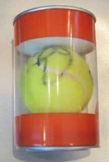 ★Ball used and signed by Rafael Nadal at Roland Garros 2013